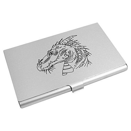 Azeeda Head' Credit Business Holder Card CH00006730 Wallet 'Dragon Card rrq5wzR