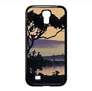 Lakeside Tree Watercolor style Cover Samsung Galaxy S4 I9500 Case (Lakes Watercolor style Cover Samsung Galaxy S4 I9500 Case)