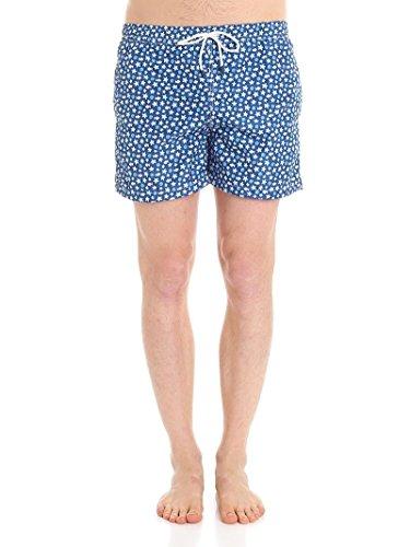 Fedeli Men's 1Ue00318b051817 Blue Polyester Trunks by Fedeli