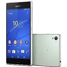 Sony Xperia Z3 D6653 16GB (FACTORY UNLOCKED) GSM international model – Silver Green