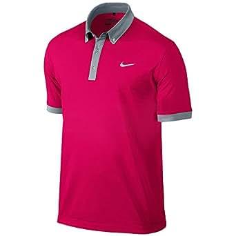 Nike Golf Ultra Polo 2.0 FUCHSIA FORCE/METALLIC SILVER 2XL