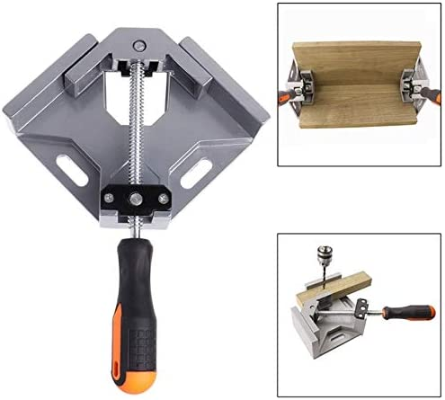 UK 90° Degree Corner Clamp Right Angle Clamps Woodworking Vice Wood Metal Weld