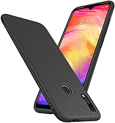 Young & Ming Funda para Xiaomi Redmi Note 7/Xiaomi Redmi Note 7 Pro, Carcasa Ligera Silicona Suave TPU Case de [Antideslizante] [Anti-Golpes] Caso ...