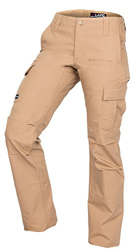 LA Police Gear Women's Stretch Ops Tactical Pants Coyote 8-Long Long Length Pant