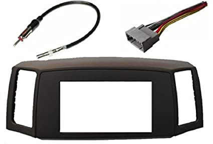 Jeep Grand Cherokee 2005-2007 Double Din Navigation Radio Bezel Dash on