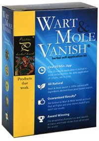 Pristine Herbal Touch Wart Mole VanishAll Natural Mole, Wart, Syringoma, Skin Tag, Genital Wart Removal Product