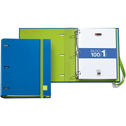 3-ring-refillable-binder-100-sheets-of-paper-blue