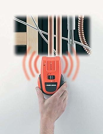 Black & Decker BDS-300 - Detector de estructuras de metal y cables: Amazon.es: Bricolaje y herramientas