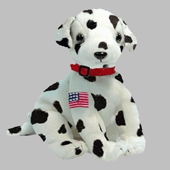 a9beca9386d TY Beanie Baby - Rescue The Fdny Dalmatian Dog  Amazon.ca  Toys   Games