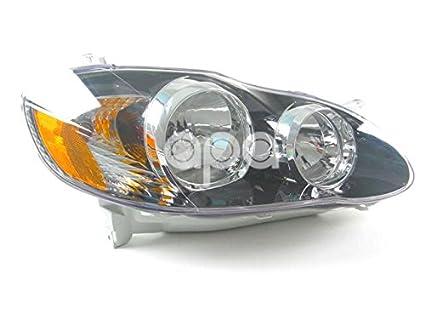Amazon Com Toyota Corolla Usa Built S 05 08 Xrs 05 06 Head Light Lh
