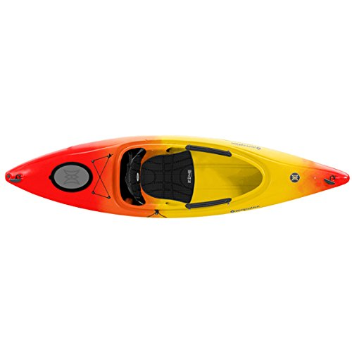 Perception Kayak Prodigy Sunset, Red/Yellow, Size 10 by Perception Kayak