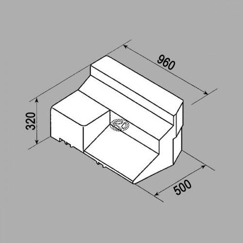 Fusion Abwassertank, 25659