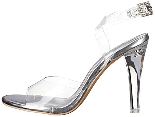 Trasparente Lucite Mujer Clearly Sandalias 406 Pleaser clr 4wq6xYIRSS