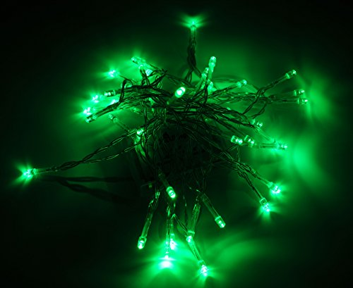 Karlling Battery Operated Green 40 LED Fairy Light String Wedding Party Xmas Christmas Decorations(Green)