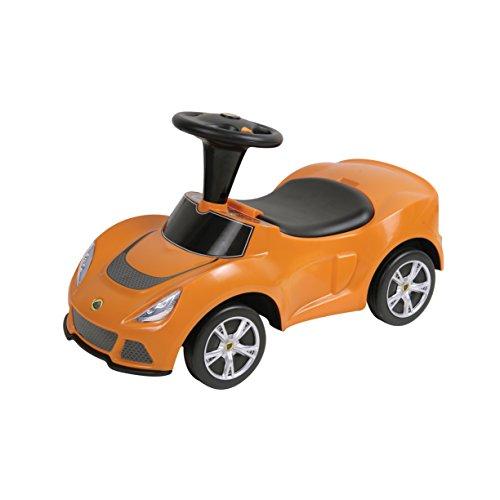 Dexton Lotus Exige S Foot-to-Floor Ride-On Car, Orange