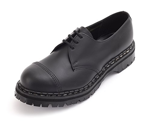ack Steel Toe Shoe UK 10/US 11 (Lined Steel Toe Oxfords)