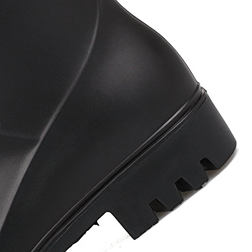 al Botas Se Resistente Con PVC de Antideslizante Black lluvia agua ora xxqXF4