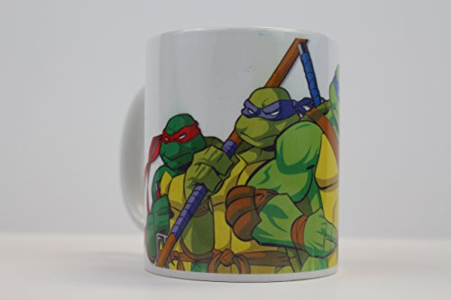 Teenage Mutant Ninja Turtles TMNT 11oz Ceramic Coffee Mug (Coffee Mug Ninja Turtle)