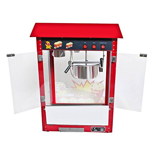 New 8oz Deluxe Popcorn Popper Maker Machine Red Table Top  : 41WabvCwbsL from www.desertcart.ae size 500 x 500 jpeg 28kB
