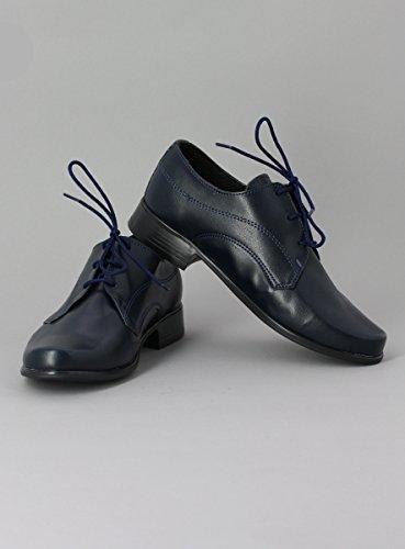 Boutique-Magique Schuhe Zeremonie Jungen Hochzeit Kommunion–Produkt Gespeichert und verschickt Schnell seit Frankreich Marineblau