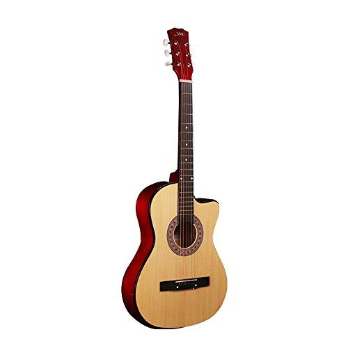 ZLS ギター guitar 40インチ 41インチ 初心者対応 珍品 (原木色) (40インチ) 40インチ  B07DFJY7Q8