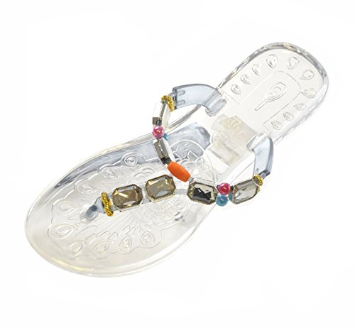 Ladies Base Sandals Clear Jelly Jelly Ladies Sandals Ladies Clear Base Jelly qnxxT56fC
