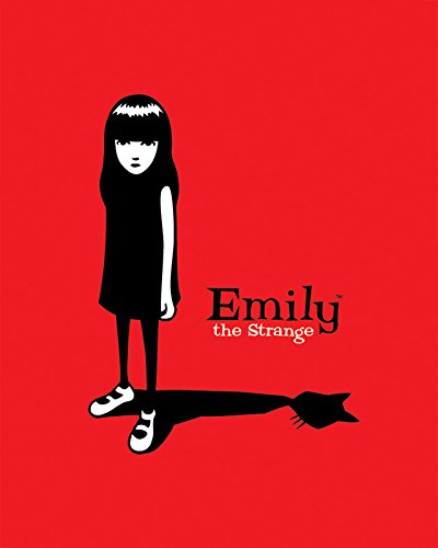 Emily the Strange Cat Like Illustration Dark Art Personality Poster Print 16 by 20