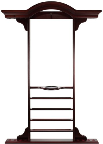 Cherry Wood Pool Cue Stick (Ozone Deluxe Pool Cue Wall Rack Cherry Mahogany)