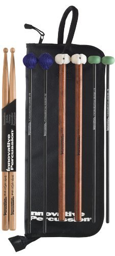 - Innovative Percussion FP2 Fundamental Series Intermediate Pack with Stick Bag Rock Drumsticks