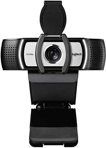 Logitech C930c HD Smart 1080P Webcam with Cover for Computer Zeiss Lens USB Video Camera 4 Time Dogital zoom
