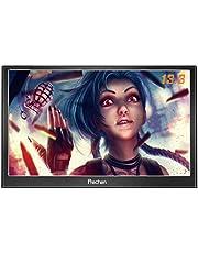 Prechen,Portable HDMI Monitor 13.3 inch 1920x1080HDMI VGA Gaming Monitor for PS3 PS4 WiiU Xbox360 Raspberry Pi 3 2 1 Windows 7 8 10 System Home Office,Build in Speaker…