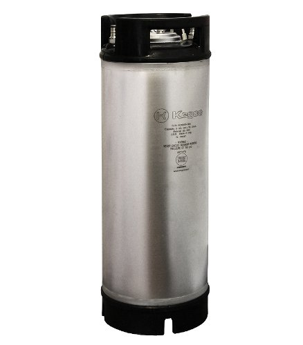 Kegco KC ICK-5RB New Coffee Keg, 5 gallon, Clear by Kegco