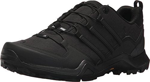 adidas Outdoor Men's Terrex Swift R2 Hiking Shoe, Black/Black/Black, 11