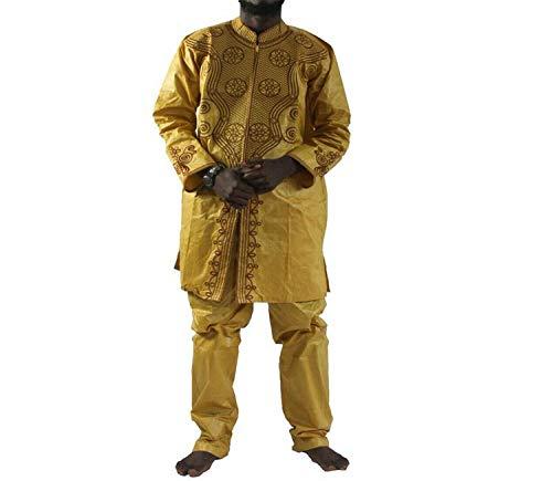 Conjunto de 2 Piezas de pantalón para Hombre, Traje Africano ...