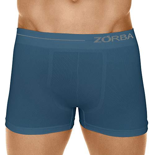 Cueca Boxer Microfibra Side,Zorba,Masculino,Petróleo,M