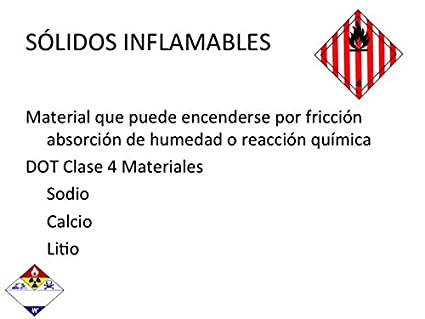 Amazon.com: SPANISH HAZMAT TECHNICIAN CHEMISTRY PPT TRAINING PRESENTATION HAZARDOUS MATERIALS