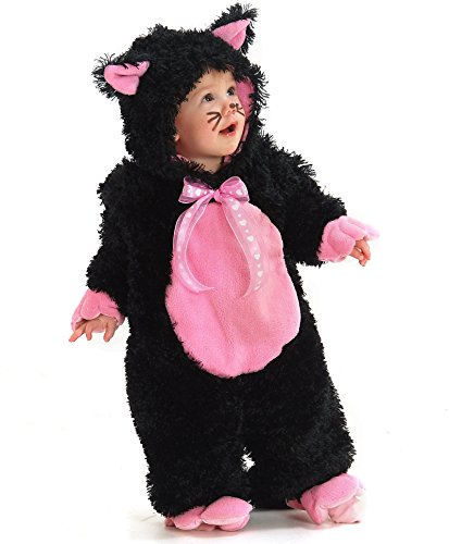 Toddler Sized Black & Pink Kitty Costume (Black And Pink Costumes)