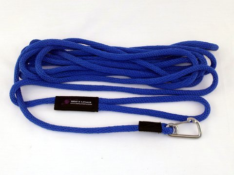 Soft Lines PSW10420PACIFICBLUE Floating Dog Swim Snap Leashes 0.25 in. Diameter by 20 Ft. - Pacific Bllue