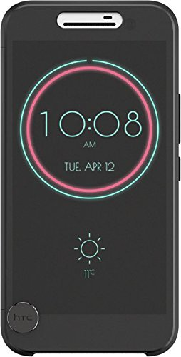 (Genuine HTC Ice View Case Cover for HTC 10 - Black)