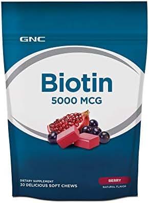 GNC Biotin 5000 MCG - Berry