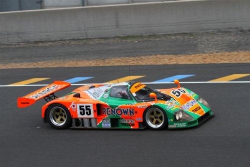 Mazda 787B 4 Rotor La Mans Winner HD Poster Race Car 36 X 24 Inch Print (Car Winner Race)