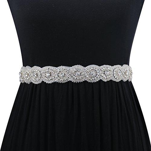 embellished belt for wedding dress - 1