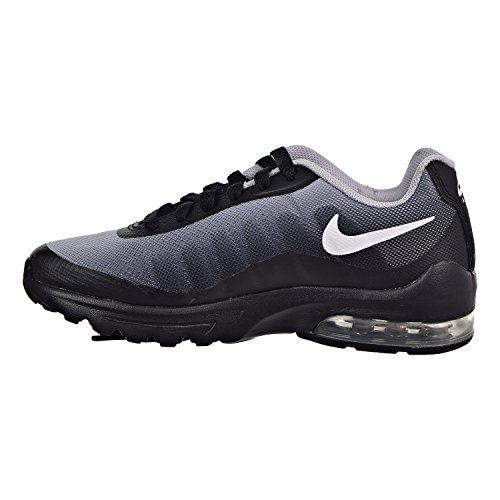 a38400803e3fc Nike Air Max Invigor Print (GS) Big Kids- Boys Sneakers Black/White ...