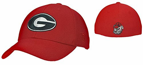Top of the World Georgia Bulldogs - Premium Collection NCAA Collegiate Hate Memory Fit - Adult, One Size Fits Most