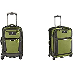 Eagle Creek Tarmac AWD Luggage Set (22 Inch Carry-On + 30 Inch Checked), Highland Green