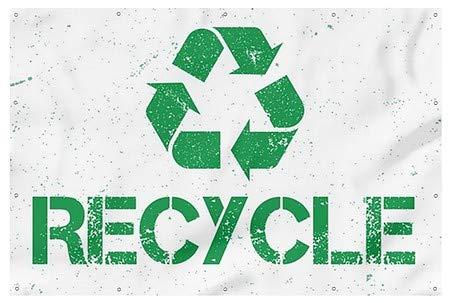 9x6 Grunge Heavy-Duty Outdoor Vinyl Banner CGSignLab Recycle