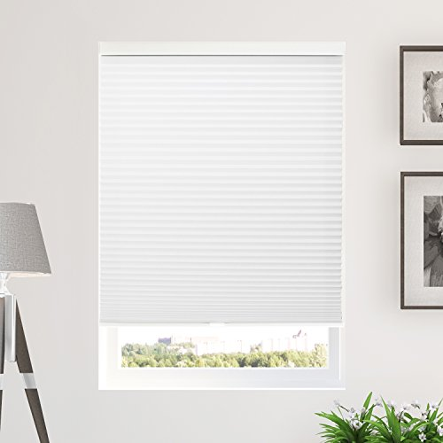 28 Inch Blind (Chicology Cordless Cellular Shades Privacy Single Cell Window Blind, 28