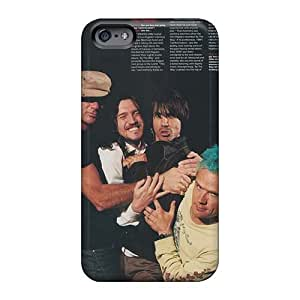 Iphone 6 FOA7874zjGJ Unique Design Beautiful Red Hot Chili Peppers Series Shock Absorbent Hard Phone Cover -MansourMurray