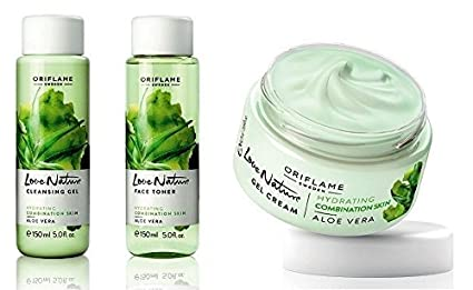 Buy oriflame love nature cleansing gel face toner and gel cream oriflame love nature cleansing gel face toner and gel cream stopboris Gallery