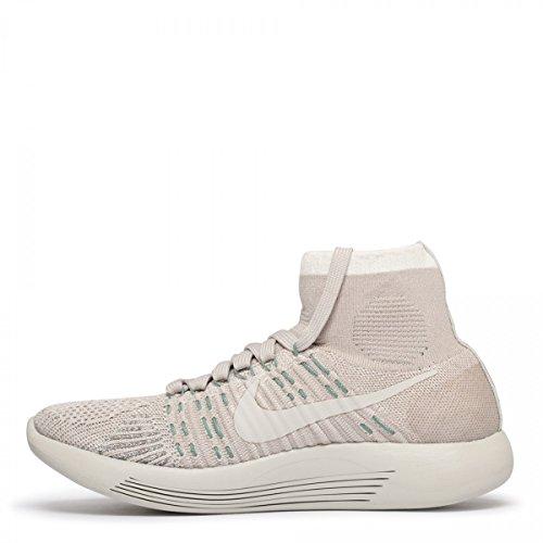 Nike Womens Lunarepic Flyknit Gyakusou Kjører Trenere 823114 Joggesko Sko Seil